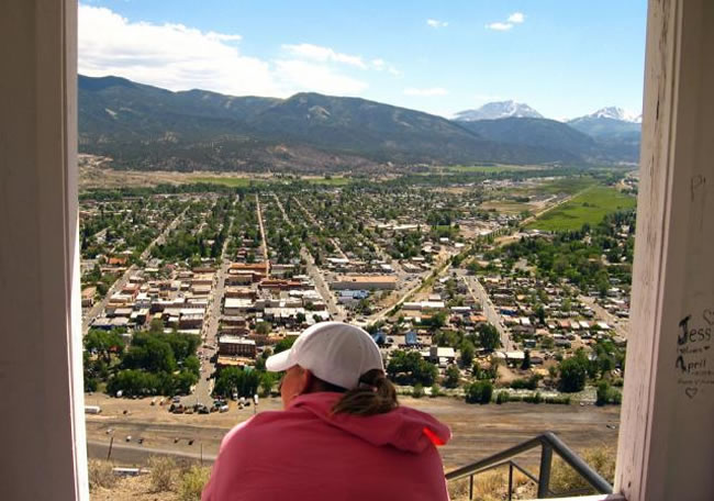 salida colorado view