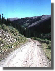 Tin Cup Pass Road